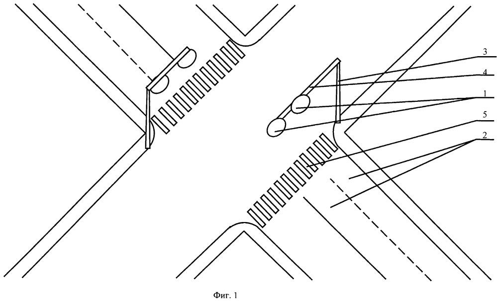 Оборудование нерегулируемого пешеходного перехода