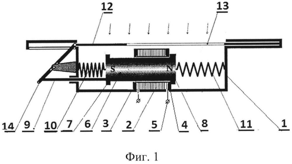 Линейный электрогенератор