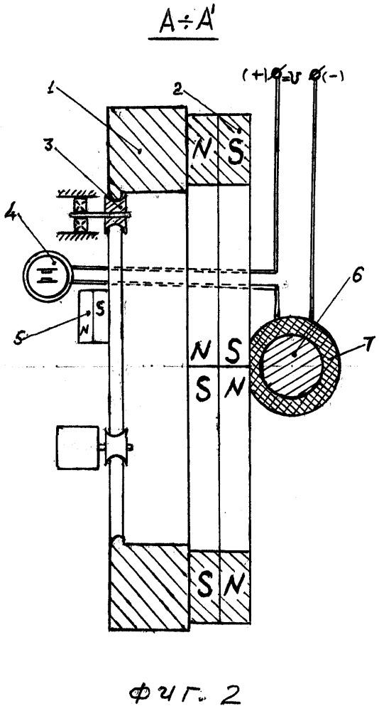 Магнитоимпульсный двигатель