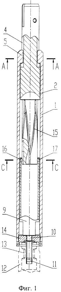 Захват кластера управляющих элементов тепловыделяющих сборок реактора
