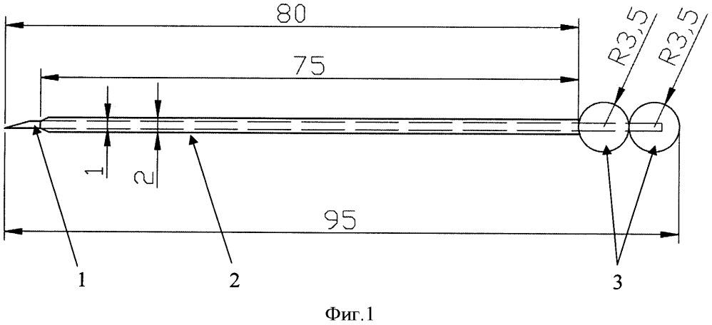 Игольное устройство для позиционирования субмаммарной складки