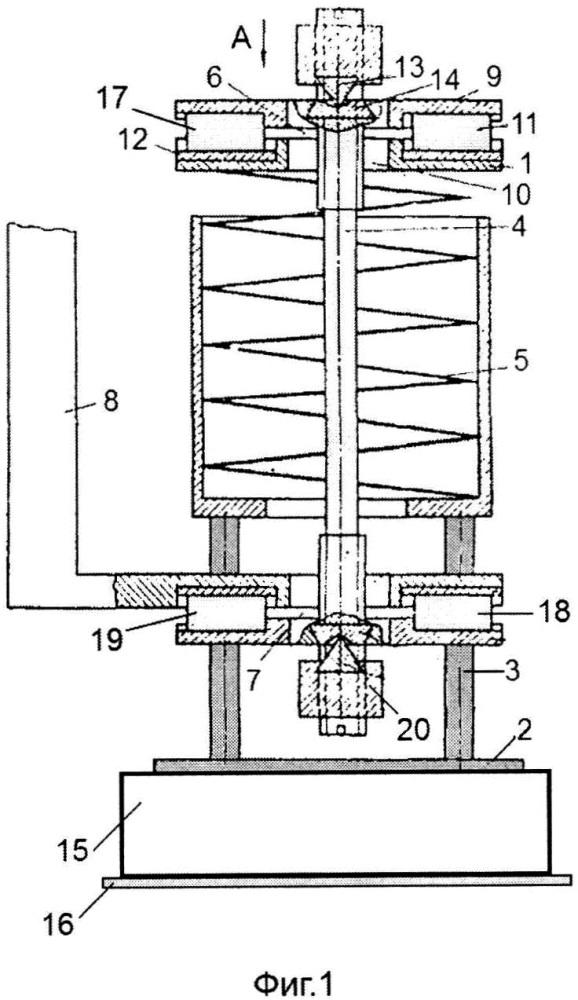 Пространственный пружинный виброизолятор маятникового типа