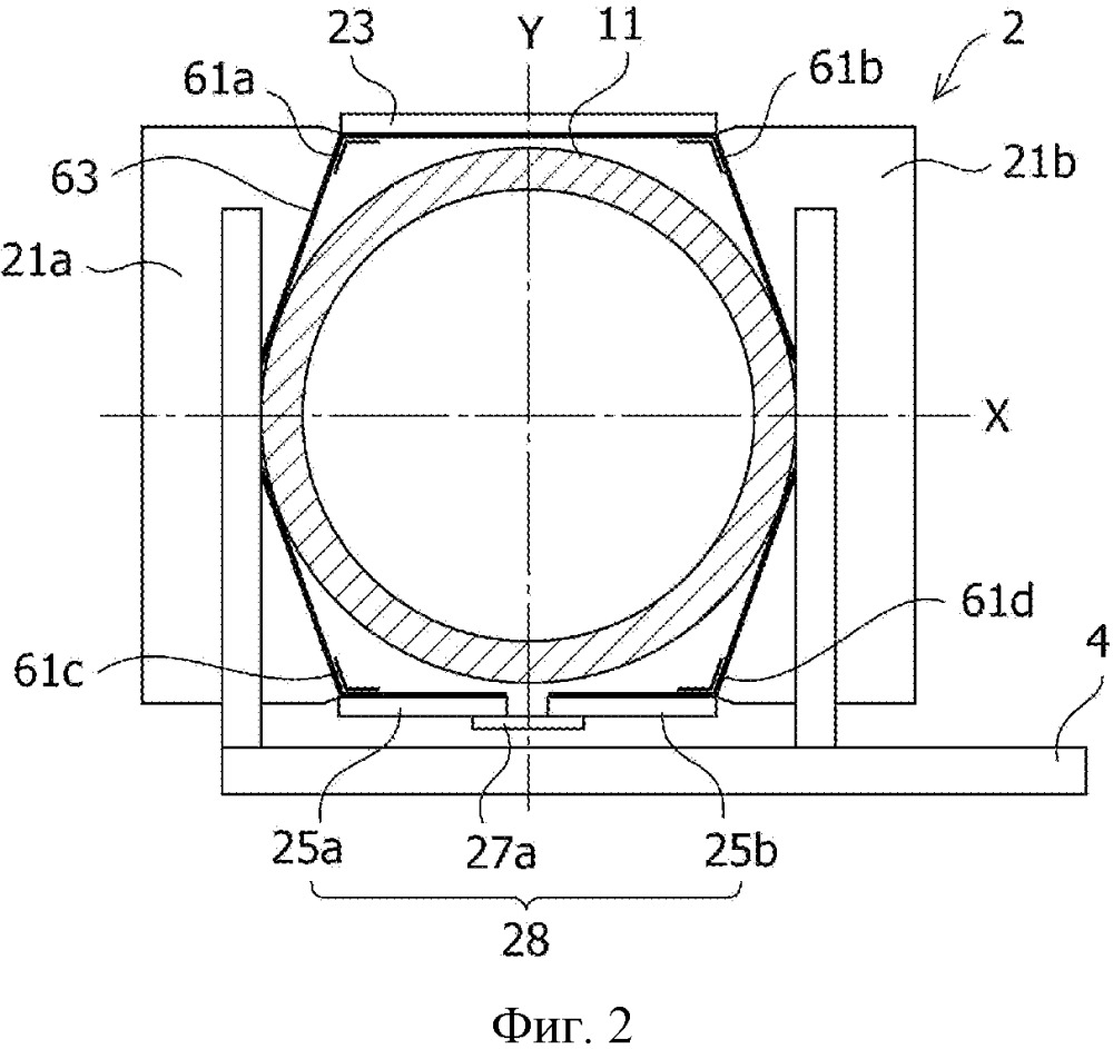 Устройство для измерения цилиндрической трубы