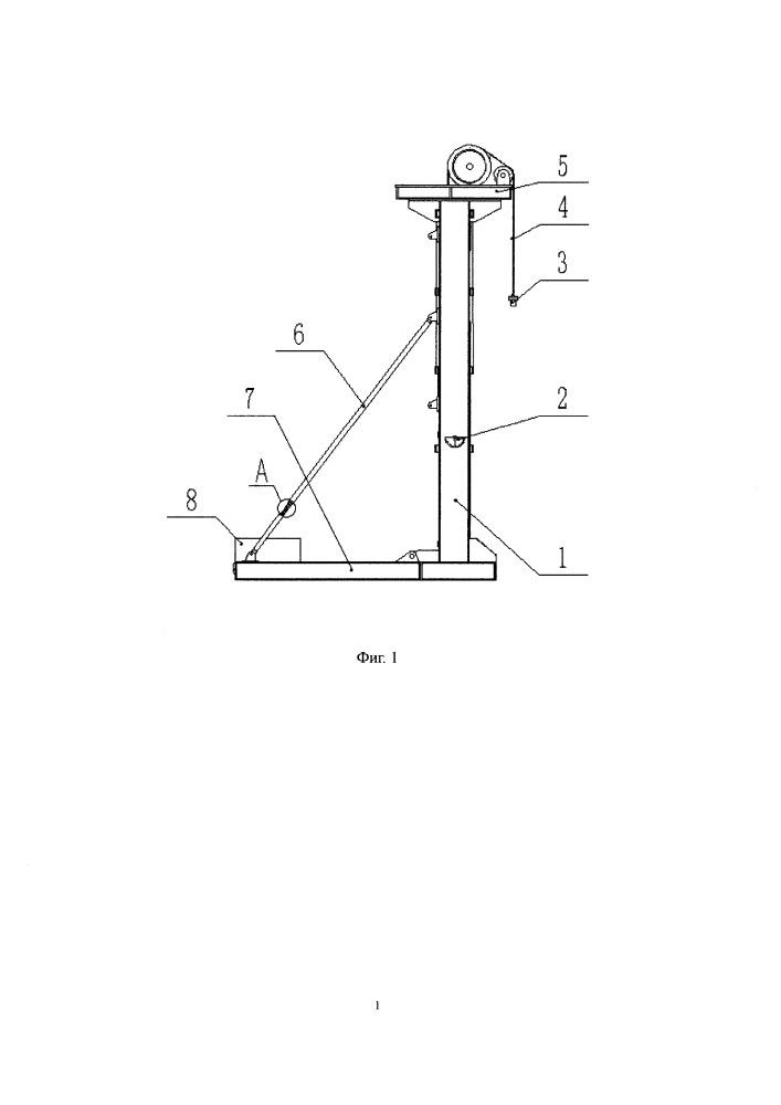 Безбалансирный станок-качалка с приводом от блока редукции двигателя