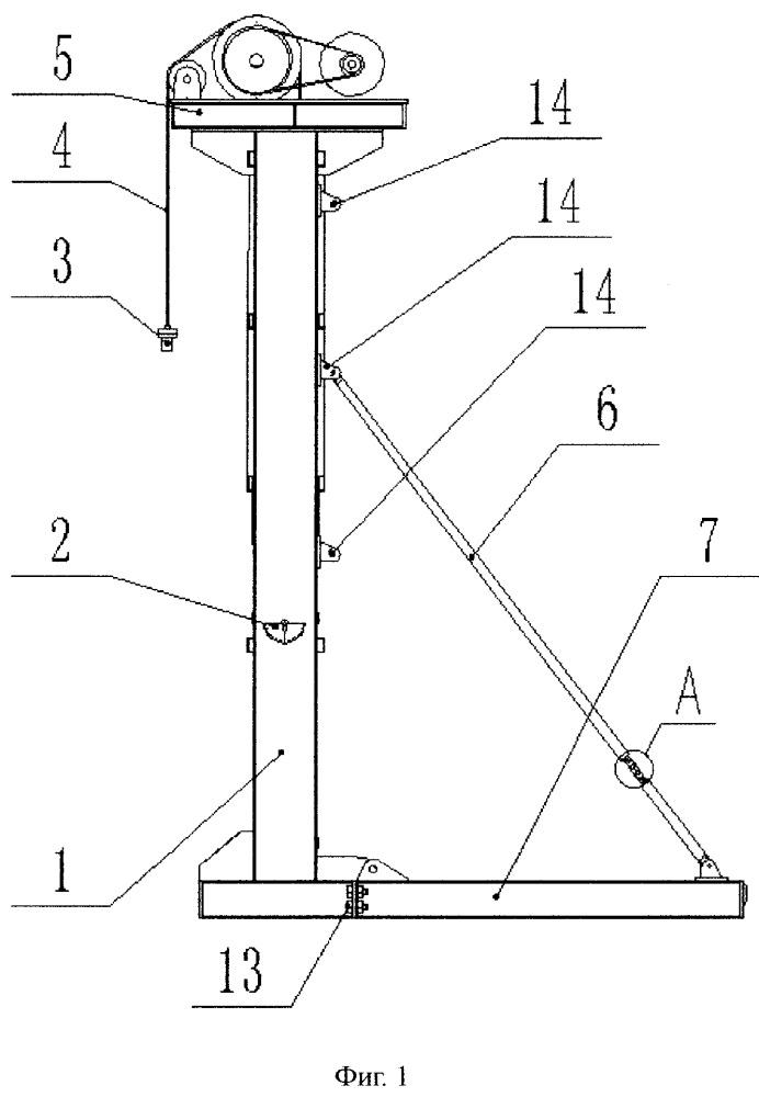Безбалансирный станок-качалка с приводом от двухосного двигателя