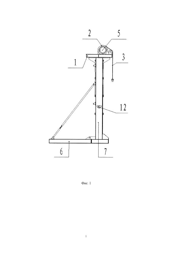 Безбалансирный станок-качалка с двумя двигателями и редуктором, встроенным в ролик
