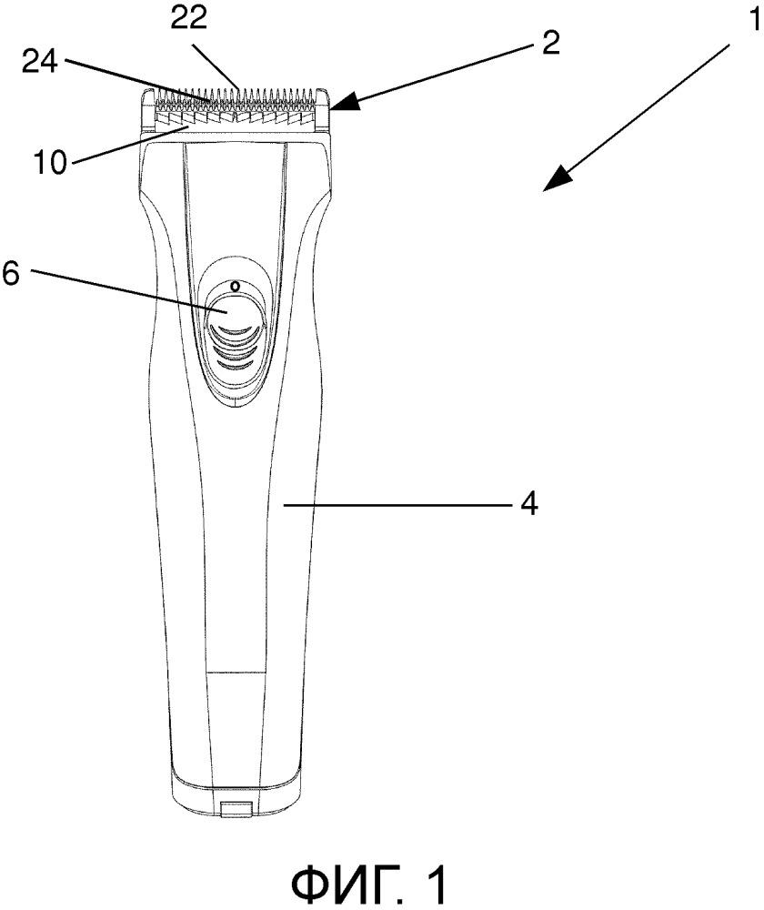 Ножевой блок машинки для стрижки волос, имеющий элемент для отвода волос, и машинка для стрижки волос, имеющая элемент для отвода волос
