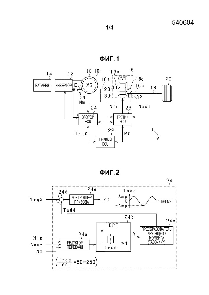 Устройство управления для вращающихся электрических машин