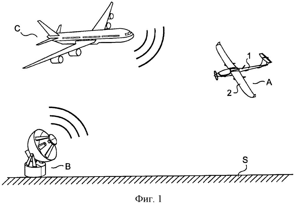 Способ навигации беспилотного аппарата в присутствии постороннего летательного аппарата и беспилотный аппарат для осуществления способа