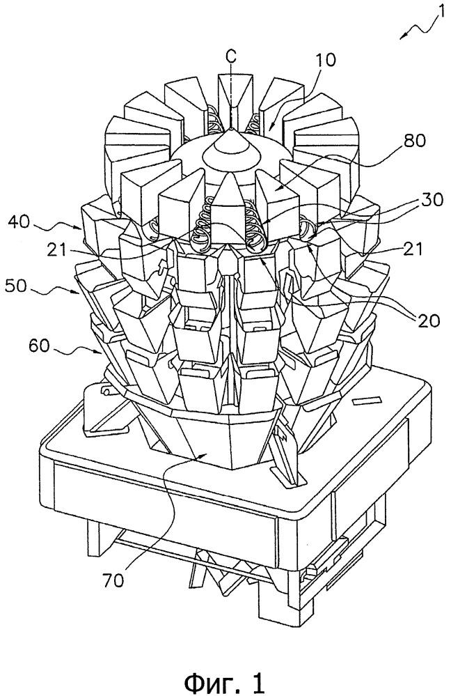 Комбинированное взвешивающее устройство