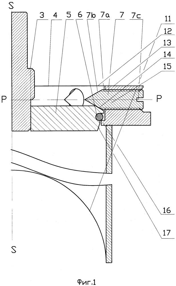 Закрывающая система для трубопроводов, находящихся под давлением