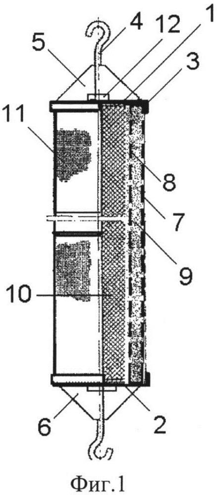 Одиночный звукопоглотитель для глушителей шума компрессорных станций