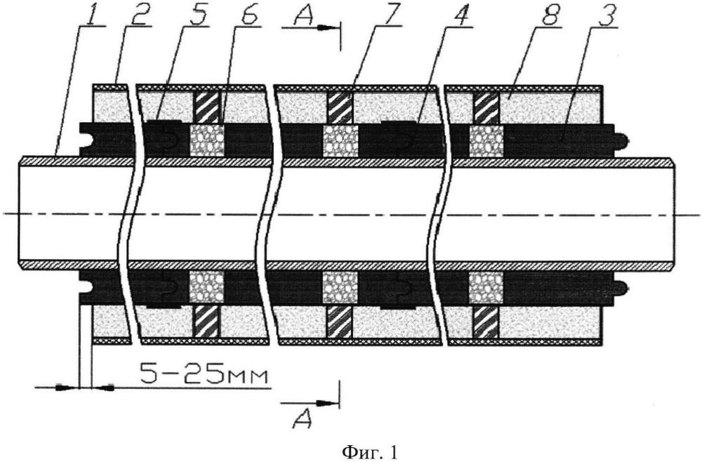Способ изготовления труб с комбинированной тепловой изоляцией для теплотрасс