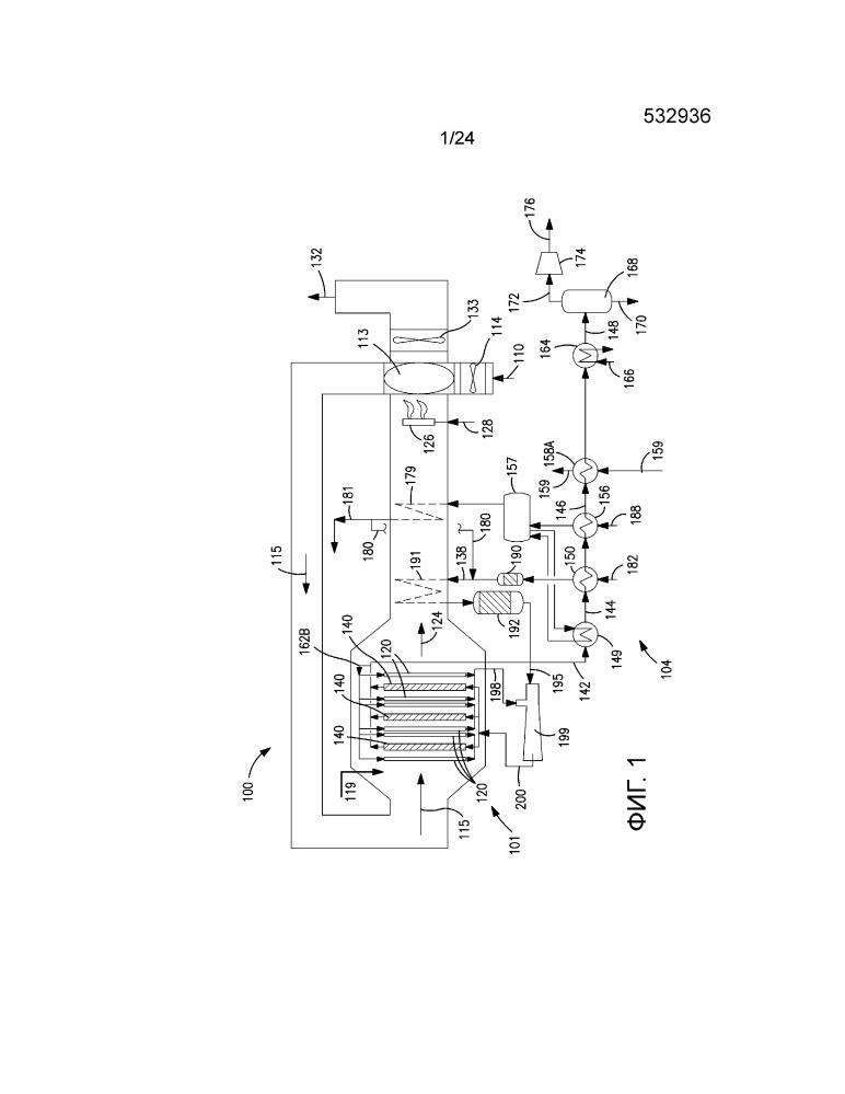 Система и способ регулирования температуры в реакторе на основе кислородпроводящих мембран