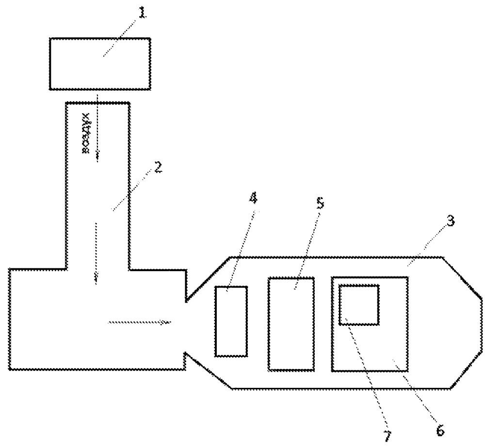 Способ использования воздушно-реактивного двигателя или движителя под водой