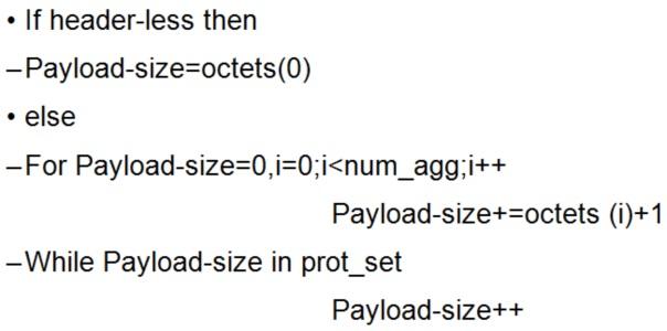 Гибридный формат полезной нагрузки rtp