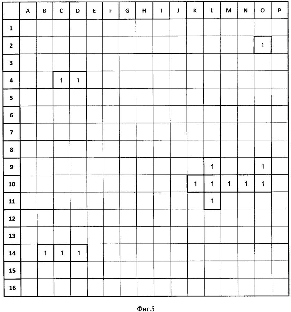 Способ обработки матрицы чисел