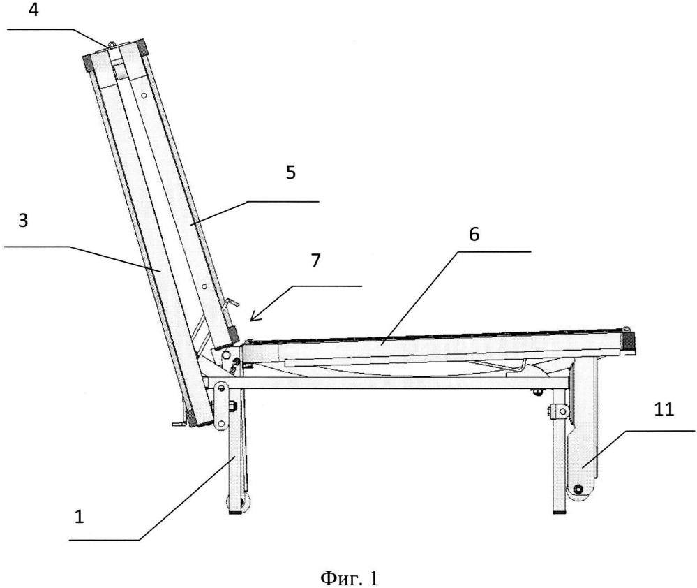 Трансформируемая трехсекционная мебель для сидения или лежания