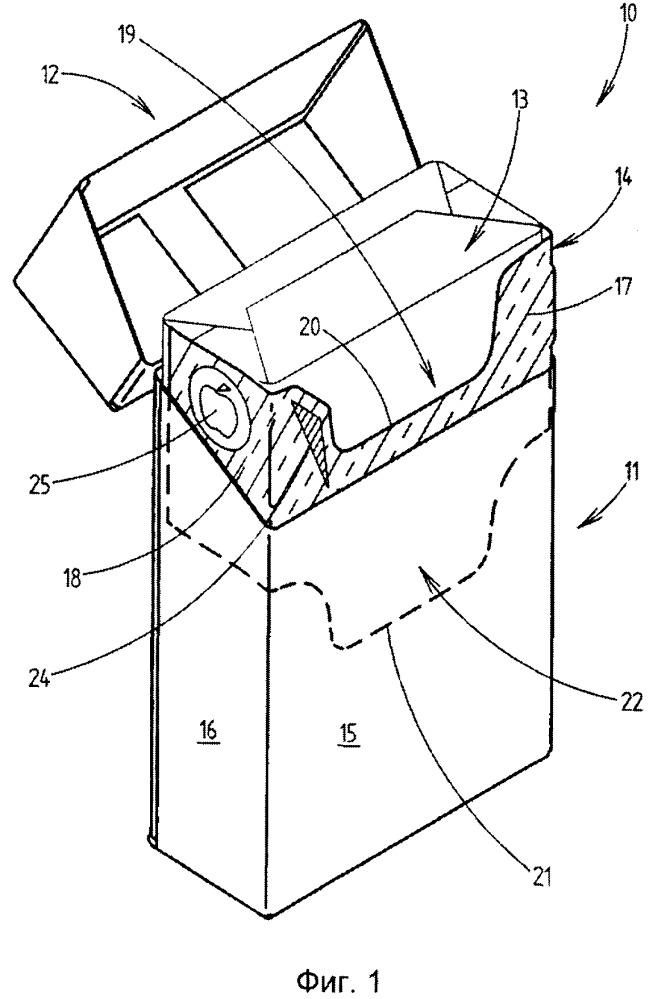 Способ и устройство для изготовления заготовок внутренних рамок для пачек сигарет
