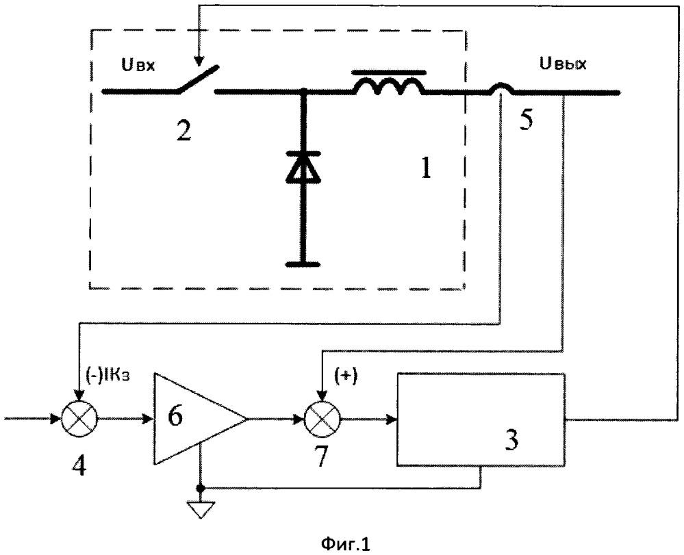 Способ управления импульсным понижающим преобразователем напряжения со стабилизацией тока (варианты)