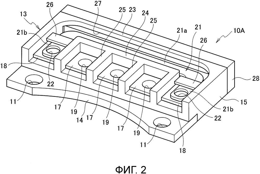 Блок контактных выводов вращающейся электрической машины