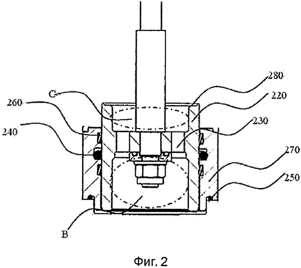 Поршневой узел и использующий его регулятор давления