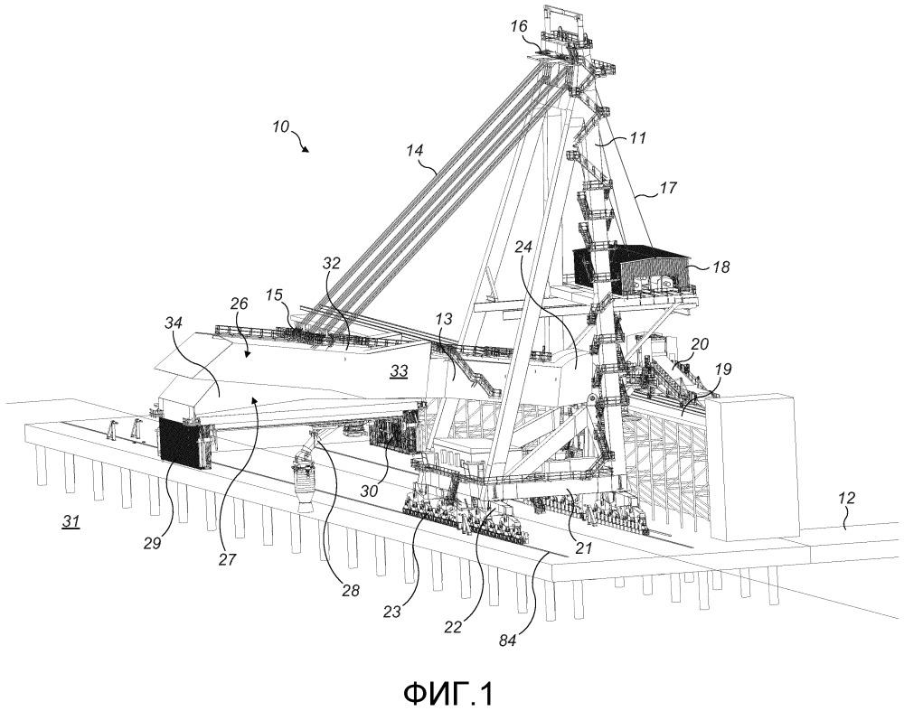 Погрузочный узел для грузового транспортного средства