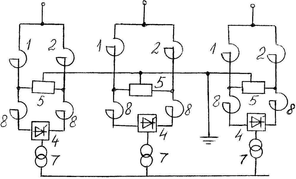 Шунтирующий реактор с пофазным управлением