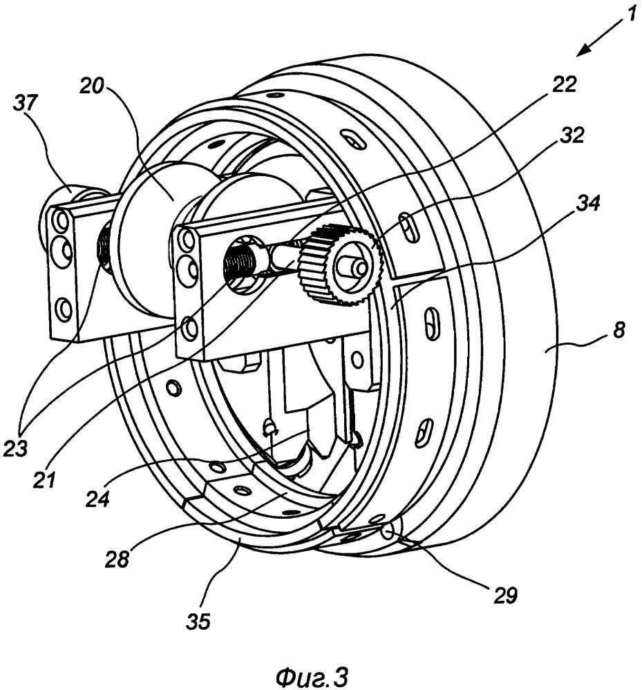 Привод вращения машинки для навивки волоконно-оптического кабеля