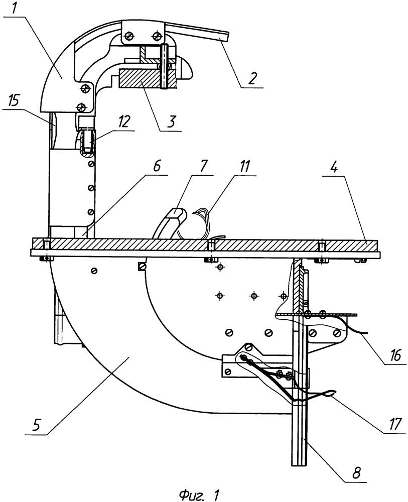Устройство для отвода звеньев автоматического оружия