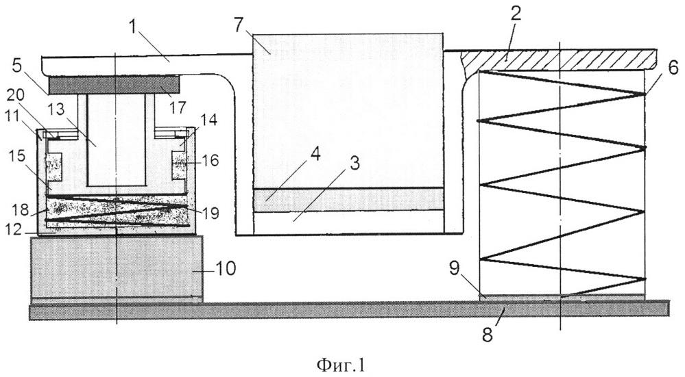 Виброизолятор резинометаллический