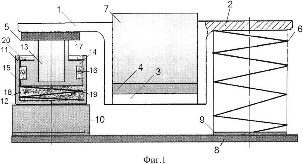 Виброизолятор с равночастотной пружиной