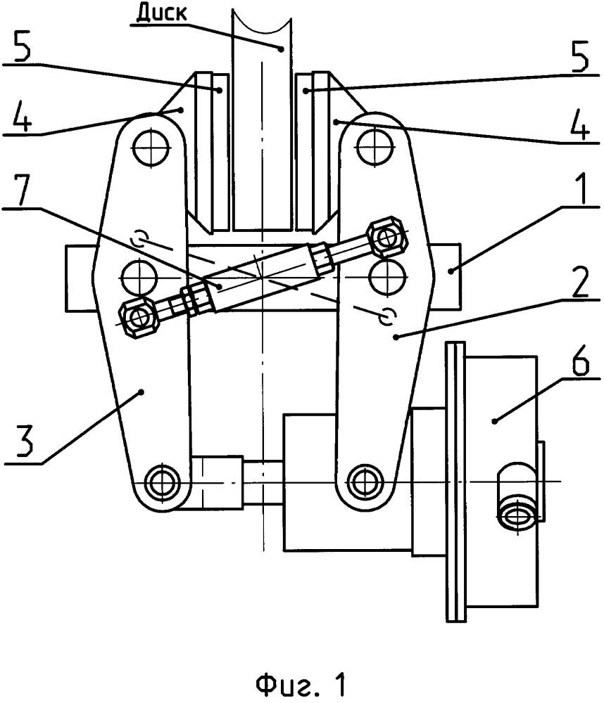 Блок дискового тормоза