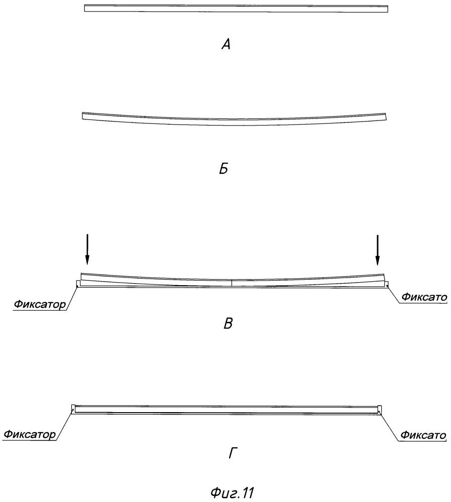 Способ прижатия светодиодной ламели к несущей поверхности