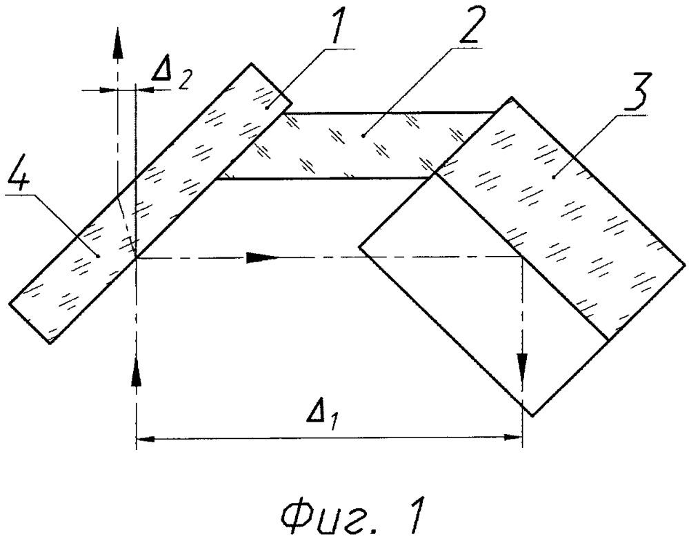 Устройство коллинеарного переноса осей оптического излучения