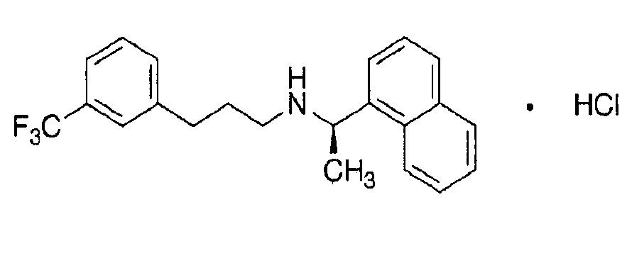 Композиция в форме таблеток, содержащая гидрохлорид цинакалцета