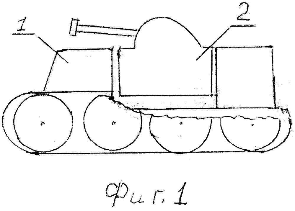Боевой комплекс из танка и вертолёта, способ его использования