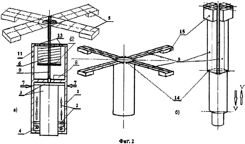 Устройство для реализации способа передвижения по вертикали подводного аппарата за счёт солнечной энергии, использующее управление его плавучестью