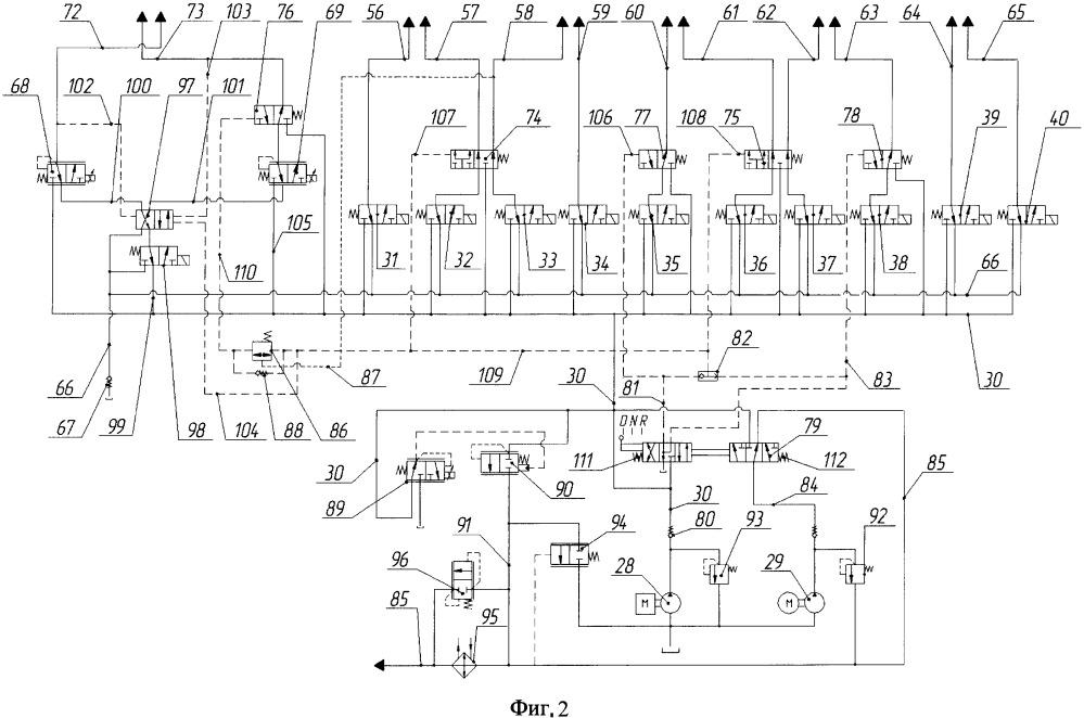 Устройство электрогидравлического управления коробкой передач и двойным сцеплением