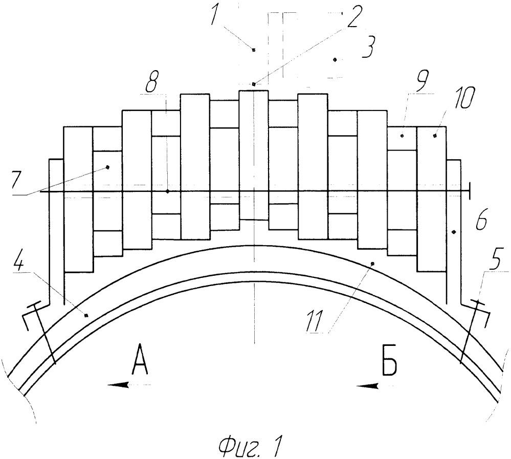 Ротор сегментного генератора