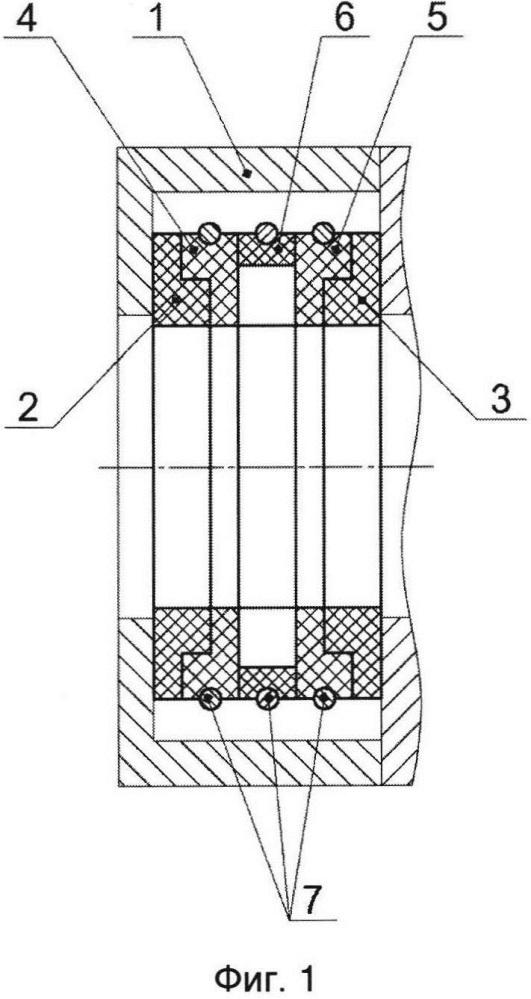 Уплотнительный элемент сальника штока