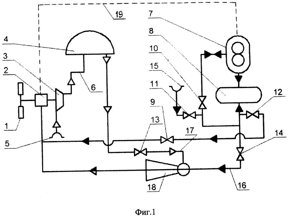 Ветрогидроаккумулирующая электроустановка