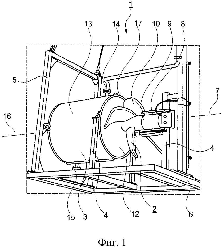 Терморегулирующее устройство и установка для получения биогаза