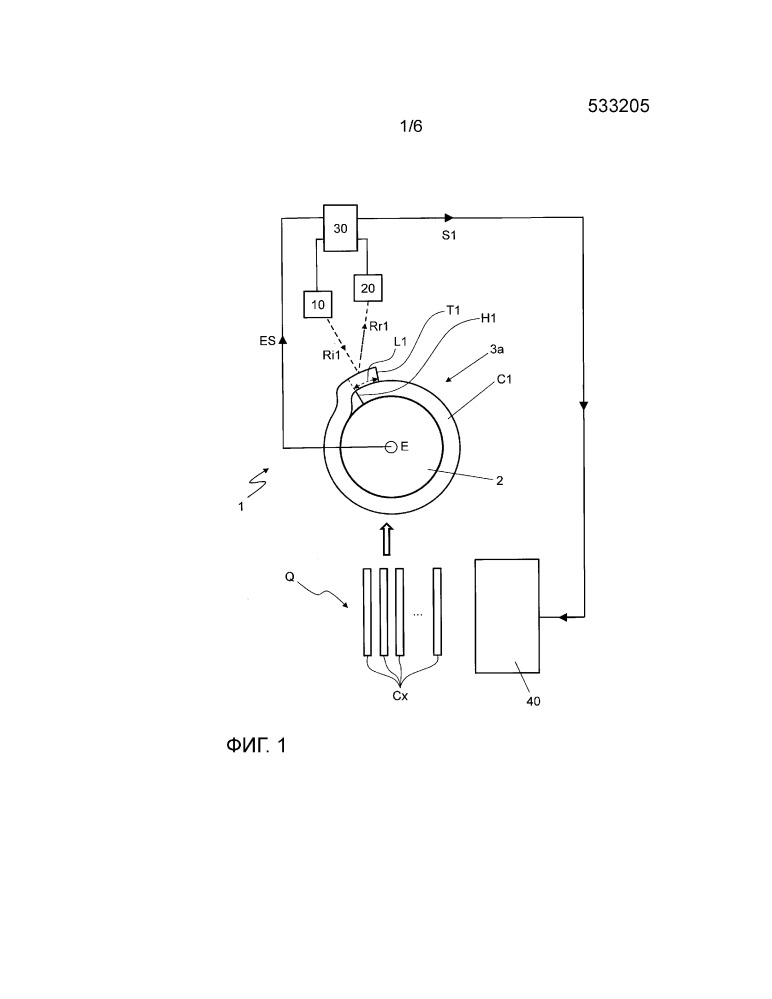 Способ и устройство для контроля наложения компонентов шин на формообразующие барабаны