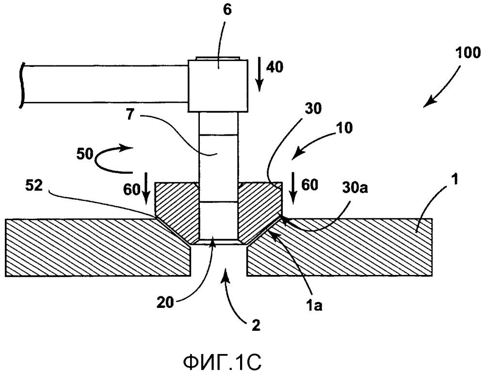 Сваренное трением вращения электрическое заземление и способы изготовления заземления