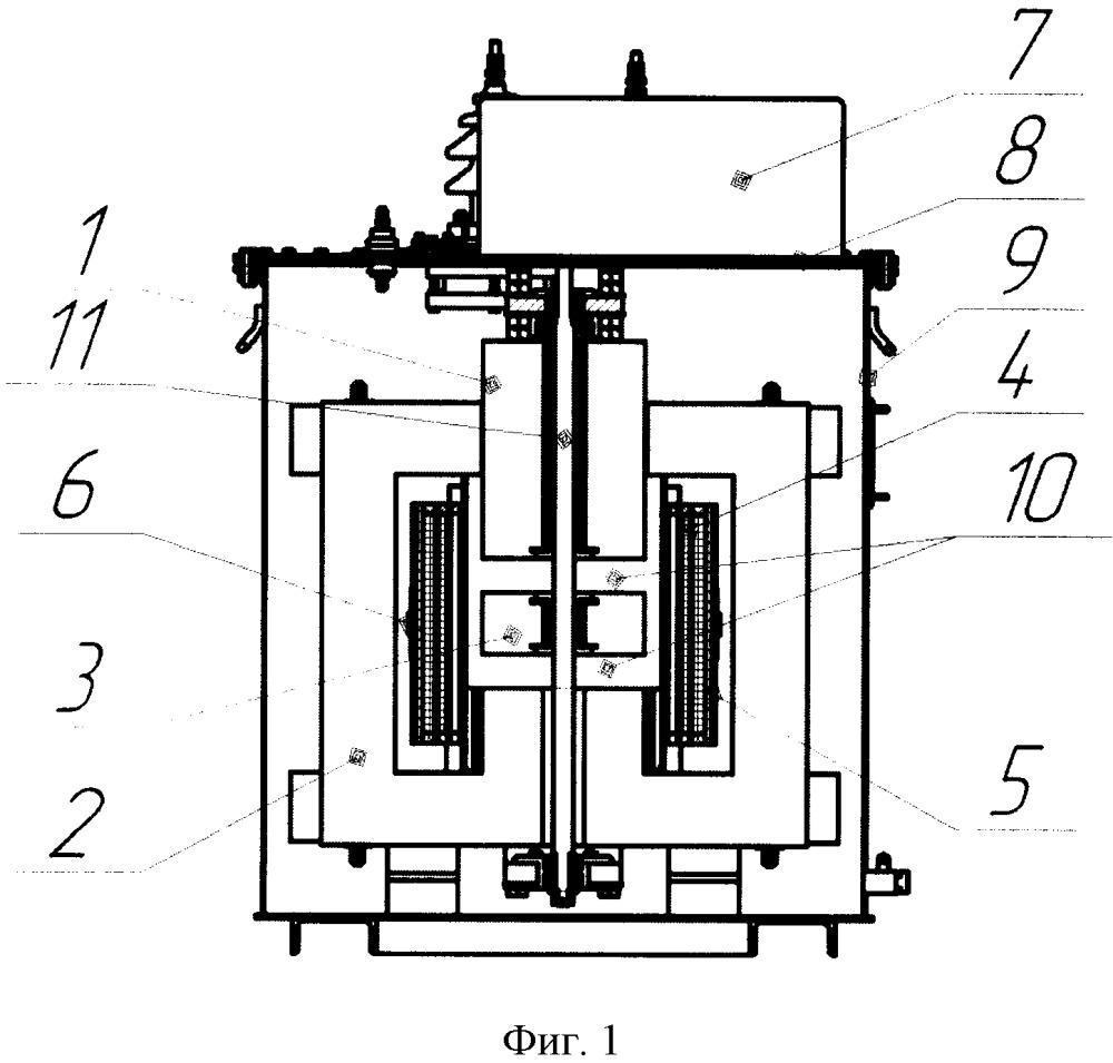 Плунжерный дугогасящий реактор с распределенными зазорами