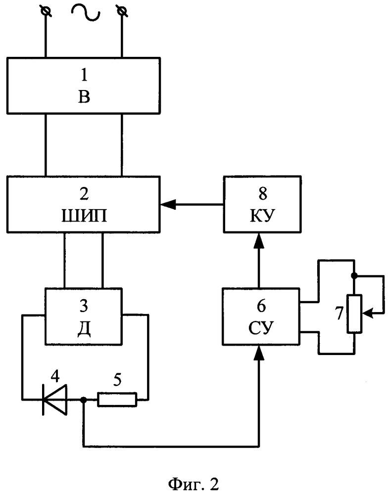Устройство стабилизации частоты вращения однофазного коллекторного двигателя