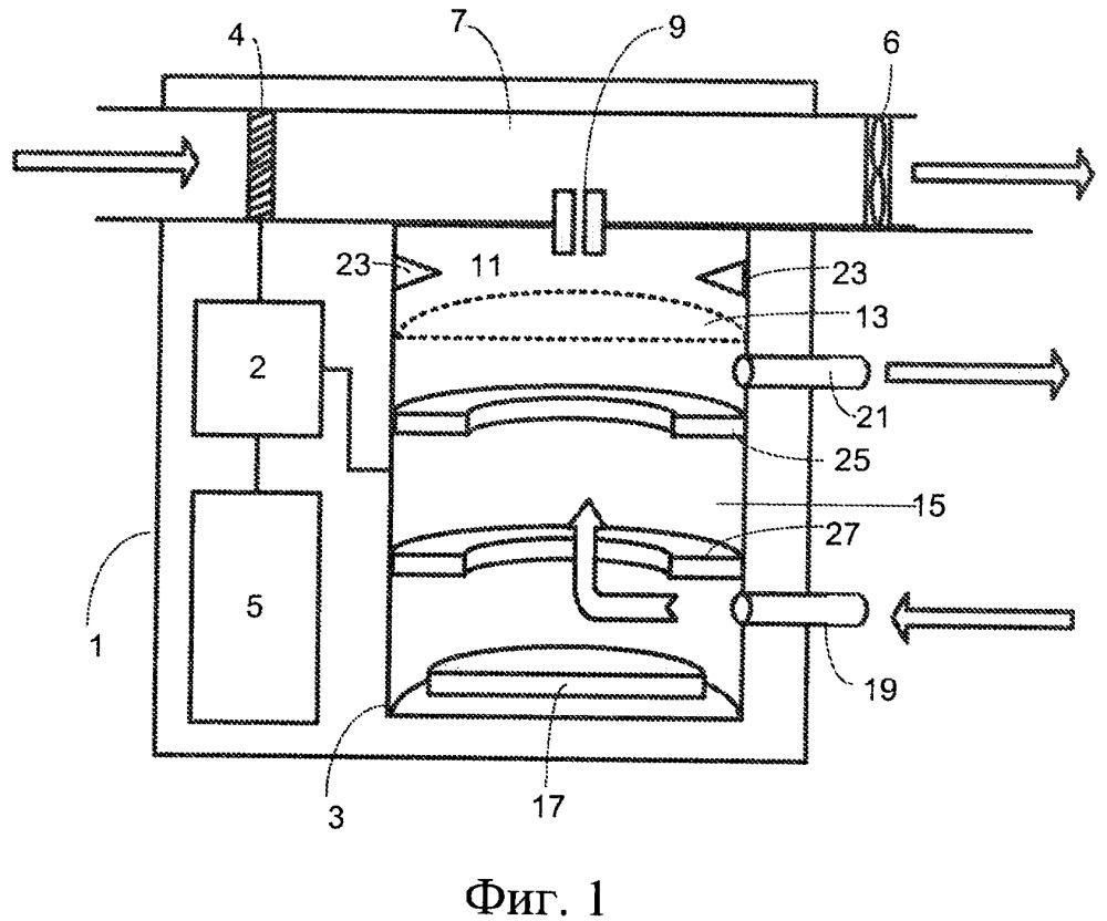 Способ и портативный спектрометр подвижности ионов для обнаружения аэрозоля
