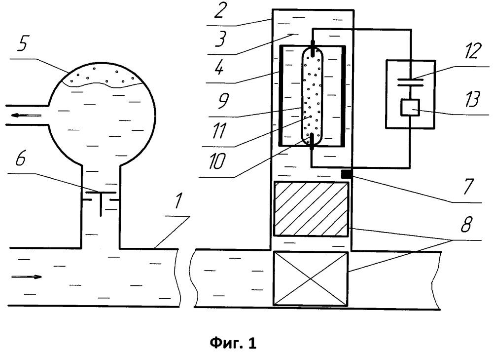 Светогидравлический таран (варианты)