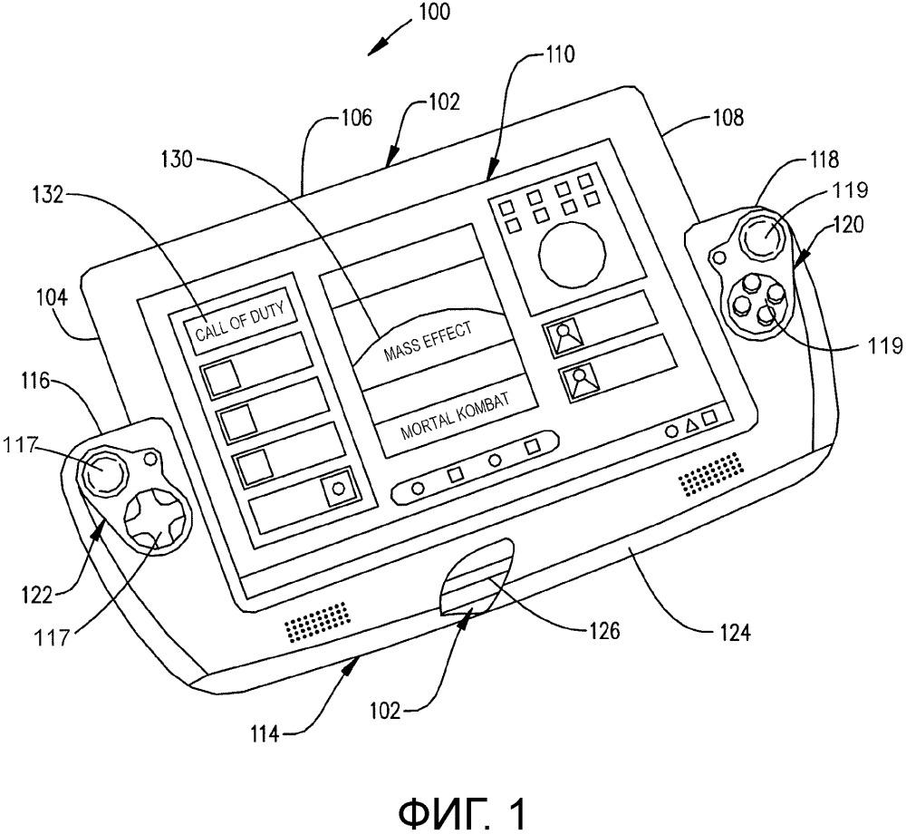 Объединение вычислительного устройства и игрового контроллера с помощью гибкой мостовой секции